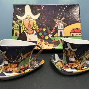"Espresso set ""Love from Holland"""