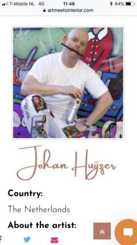 meet the Artist Johan Huijzer